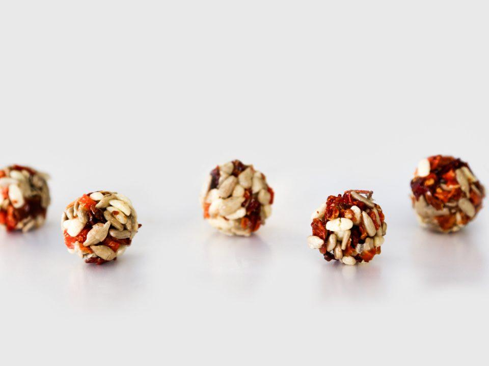 Gesunde Snacks - Cerealienkugeln
